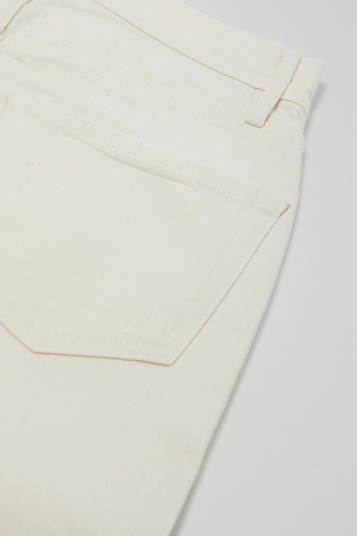 FRAME Le Original hoch sitzende Jeans mit geradem Bein