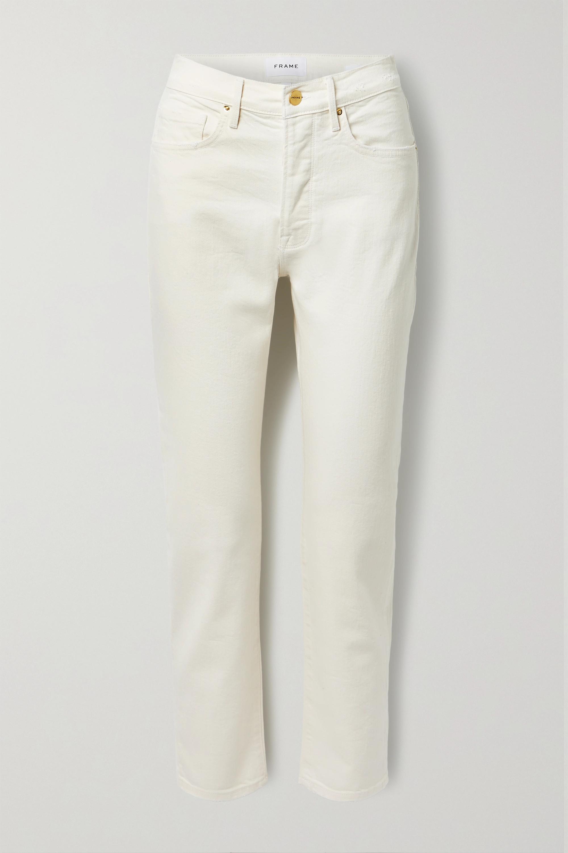FRAME - Le Original high-rise straight-leg jeans