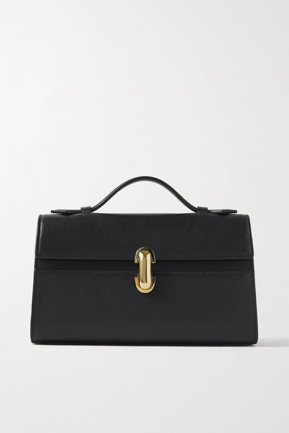 Savette Symmetry Pochette leather tote