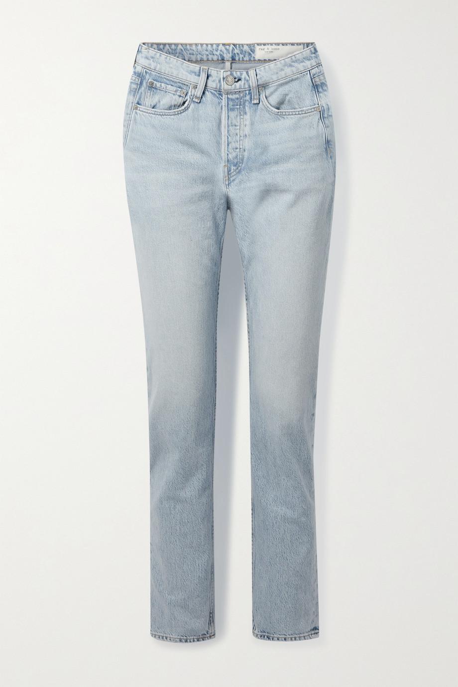 rag & bone Maya high-rise slim-leg jeans