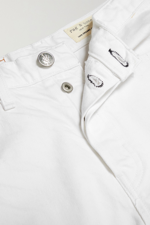 rag & bone Maya distressed organic denim shorts