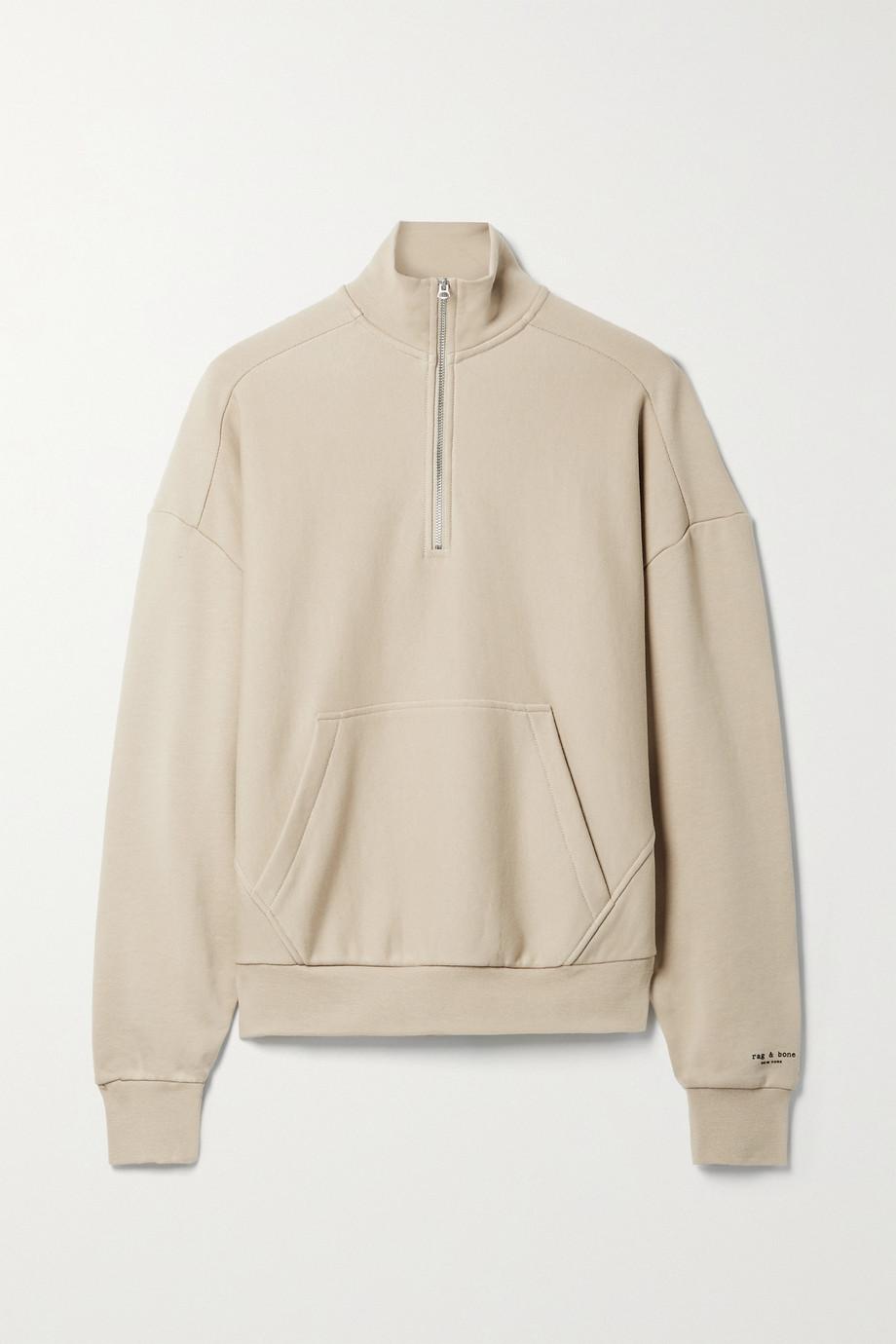 rag & bone + NET SUSTAIN City organic cotton-jersey sweatshirt