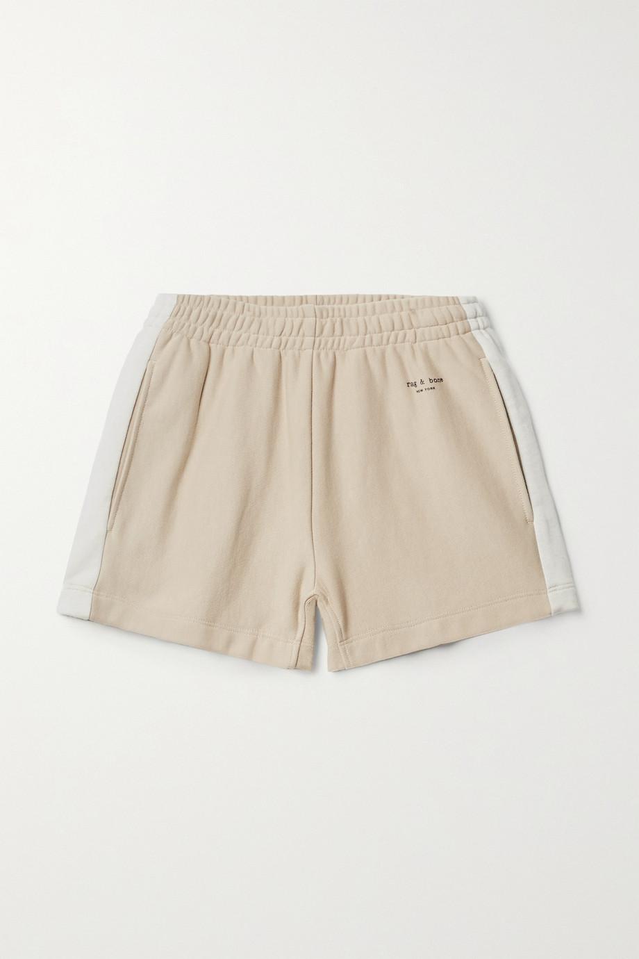 rag & bone + NET SUSTAIN City organic cotton-jersey shorts