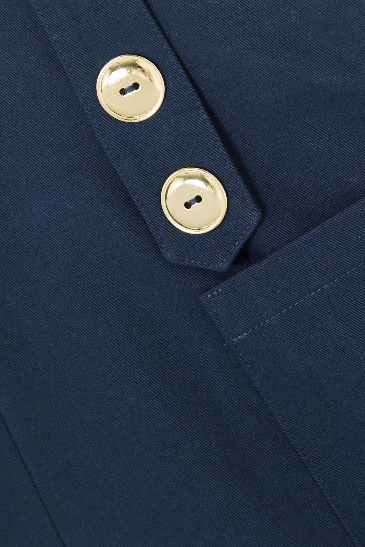 ARTCLUB + NET SUSTAIN Vita Marina cotton-twill shorts