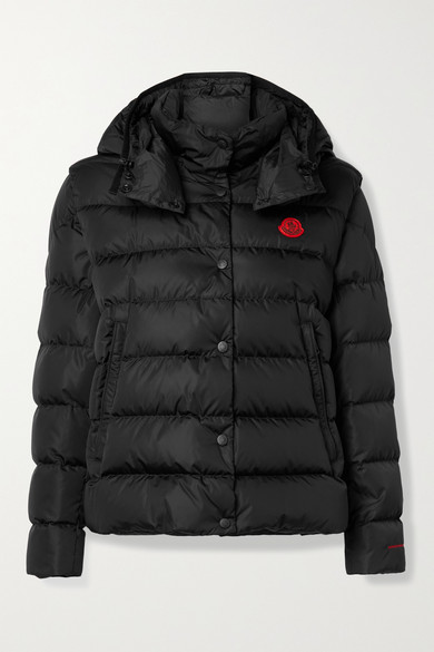 Moncler GATOPE CONVERTIBLE HOODED QUILTED ECONYL DOWN JACKET