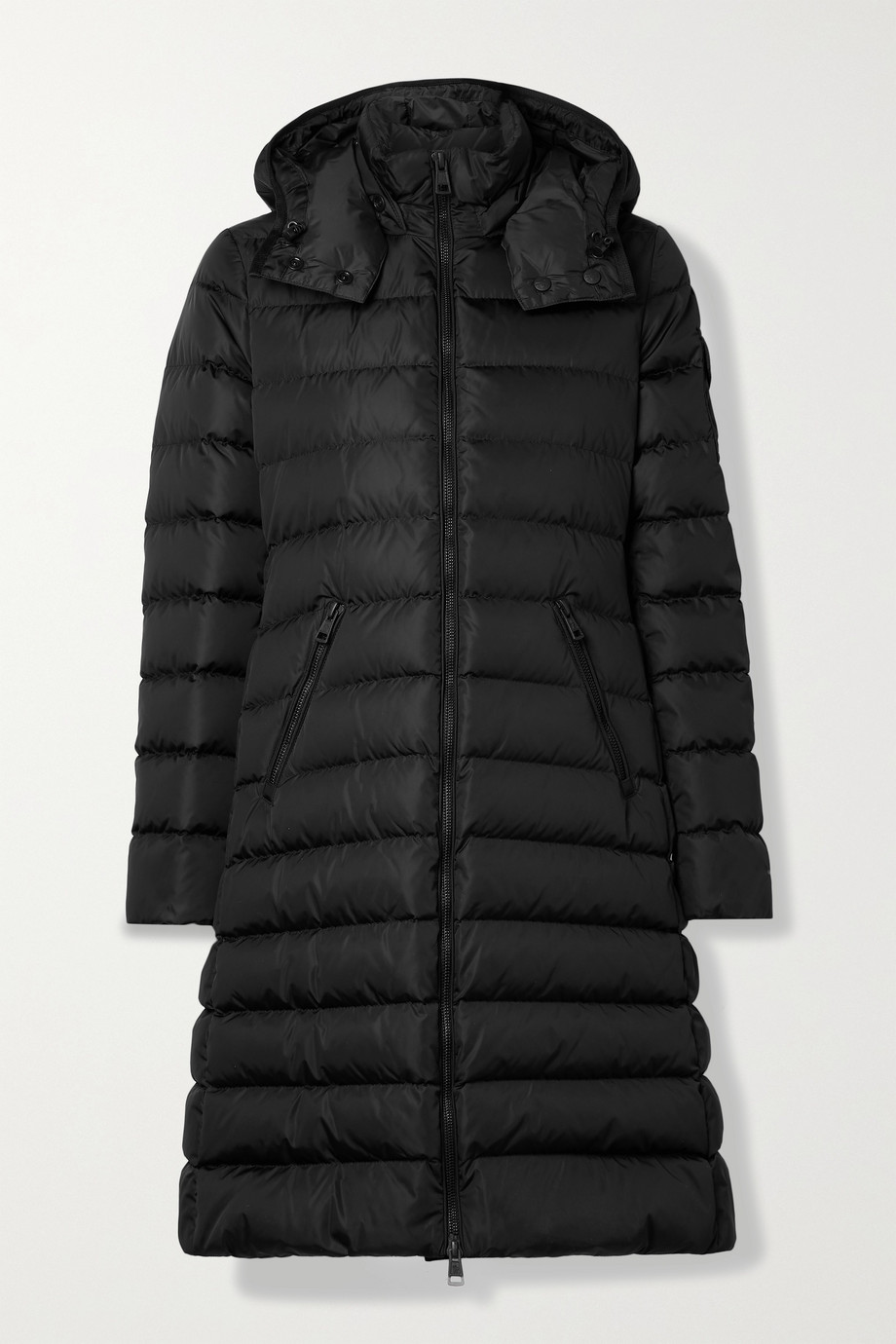 Moncler Lemenez hooded quilted ECONYL down coat