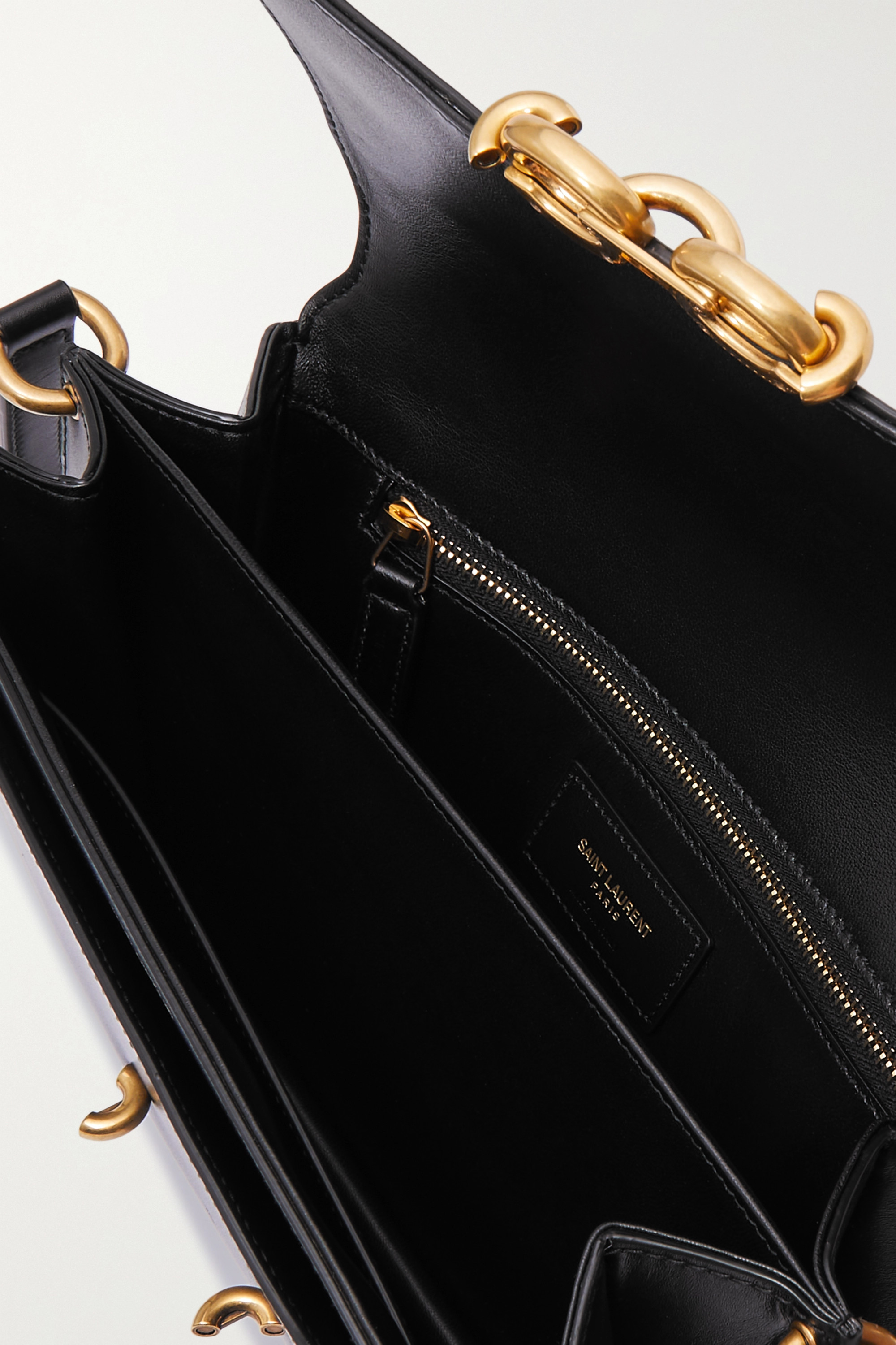 SAINT LAURENT Le Maillon leather shoulder bag