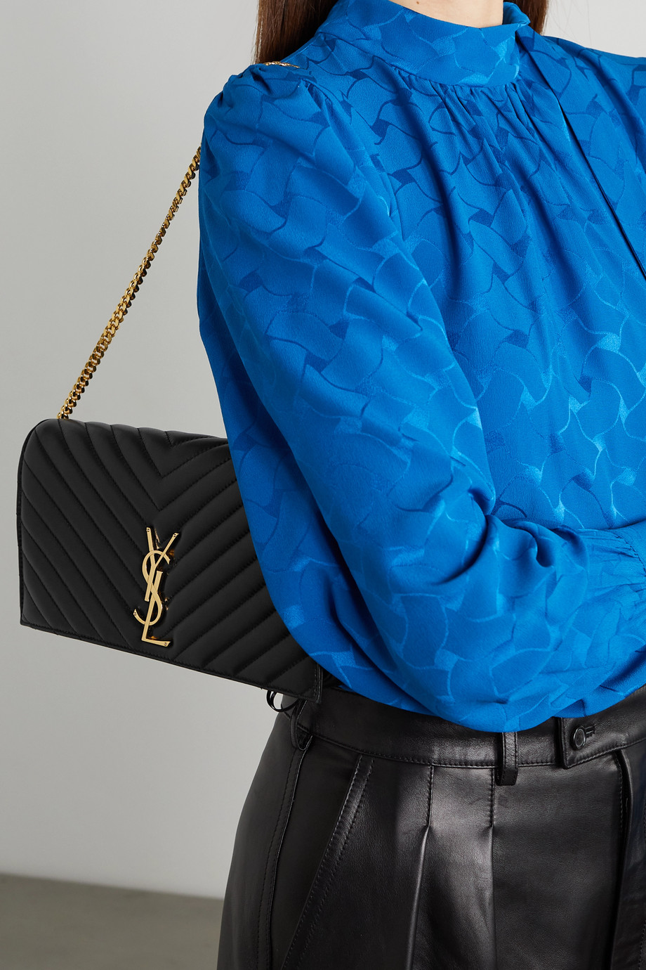 SAINT LAURENT Kate 99 quilted leather shoulder bag