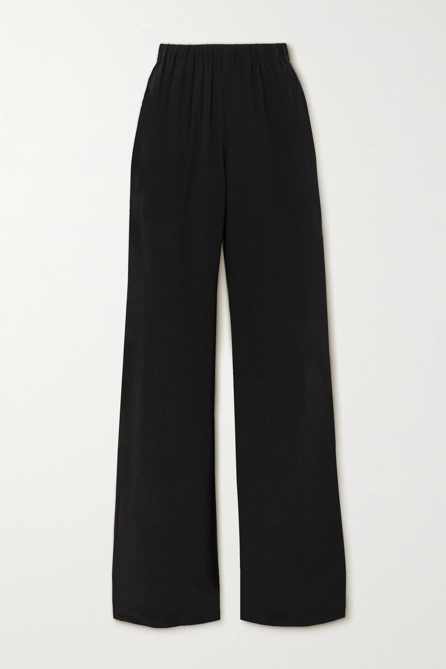 Envelope1976 Vehi silk-crepe trousers