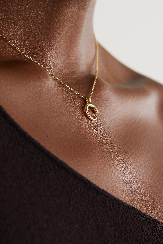 KHIRY Fine Mini Khartoum 18-karat gold necklace
