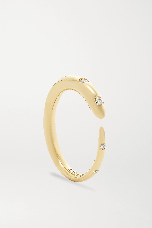 KHIRY Fine Khartoum 18-karat gold diamond ring