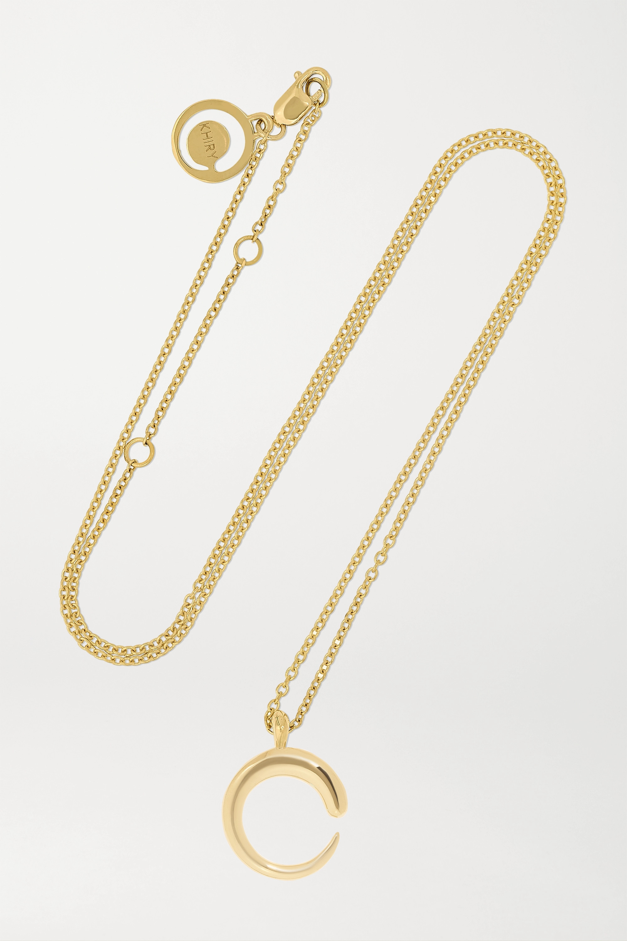 KHIRY Fine Khartoum II 18-karat gold necklace