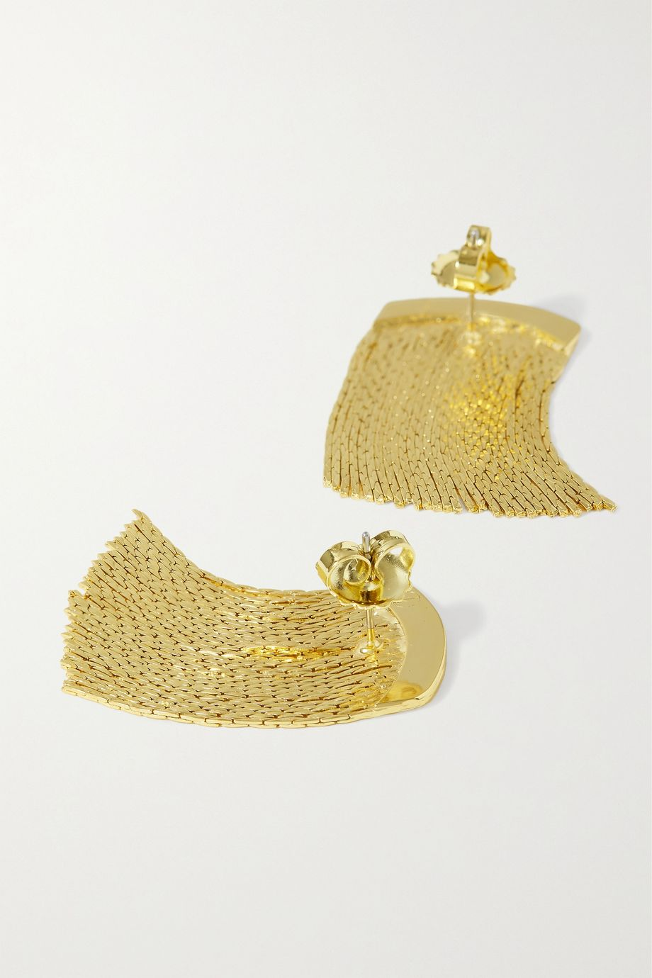 Anissa Kermiche Fil d'Or gold-plated earrings