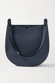 Valextra Textured-leather shoulder bag