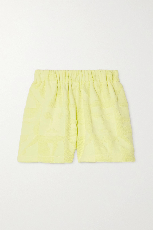 Lucy Folk Playa cotton-terry shorts