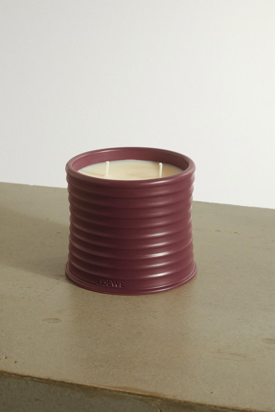 LOEWE Home Scents Bougie parfumée à la betterave Medium, 610 g