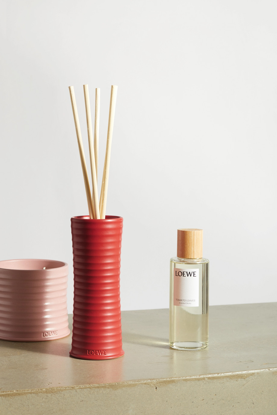 LOEWE Home Scents Scented Sticks - Tomato Leaves, 245ml