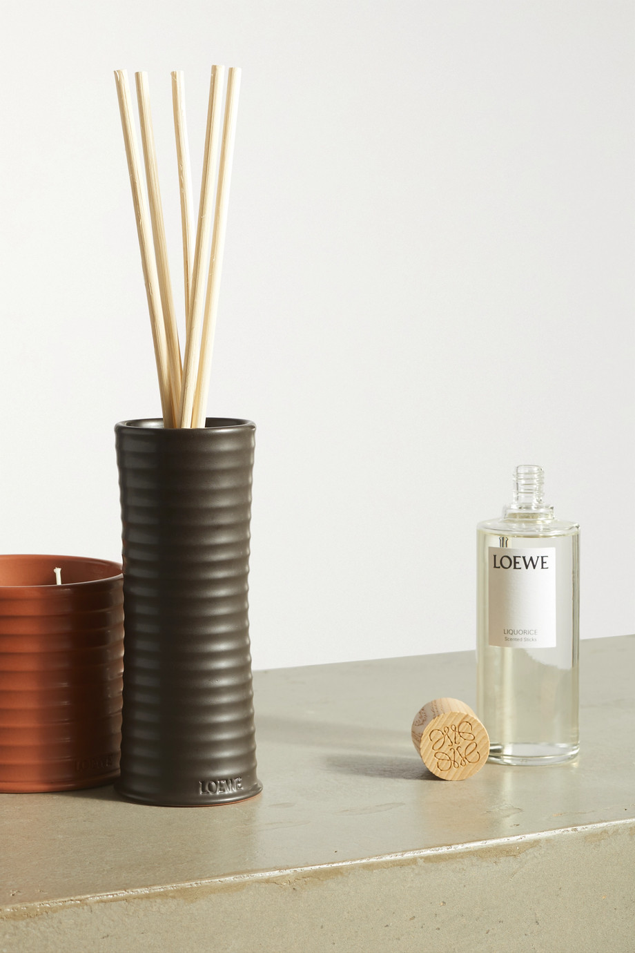 LOEWE Home Scents Scented Sticks - Liquorice, 245ml