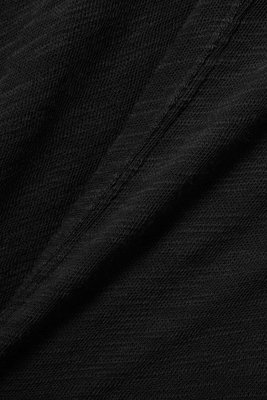 ATM Anthony Thomas Melillo Neckholder-Maxikleid aus Flammgarn-Jersey aus Baumwolle