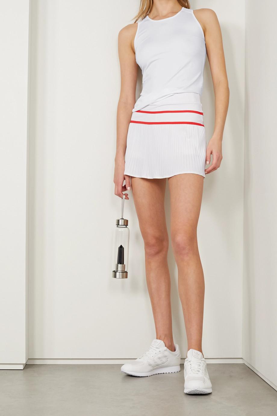L'Etoile Sport Pleated stretch-jersey tennis skirt