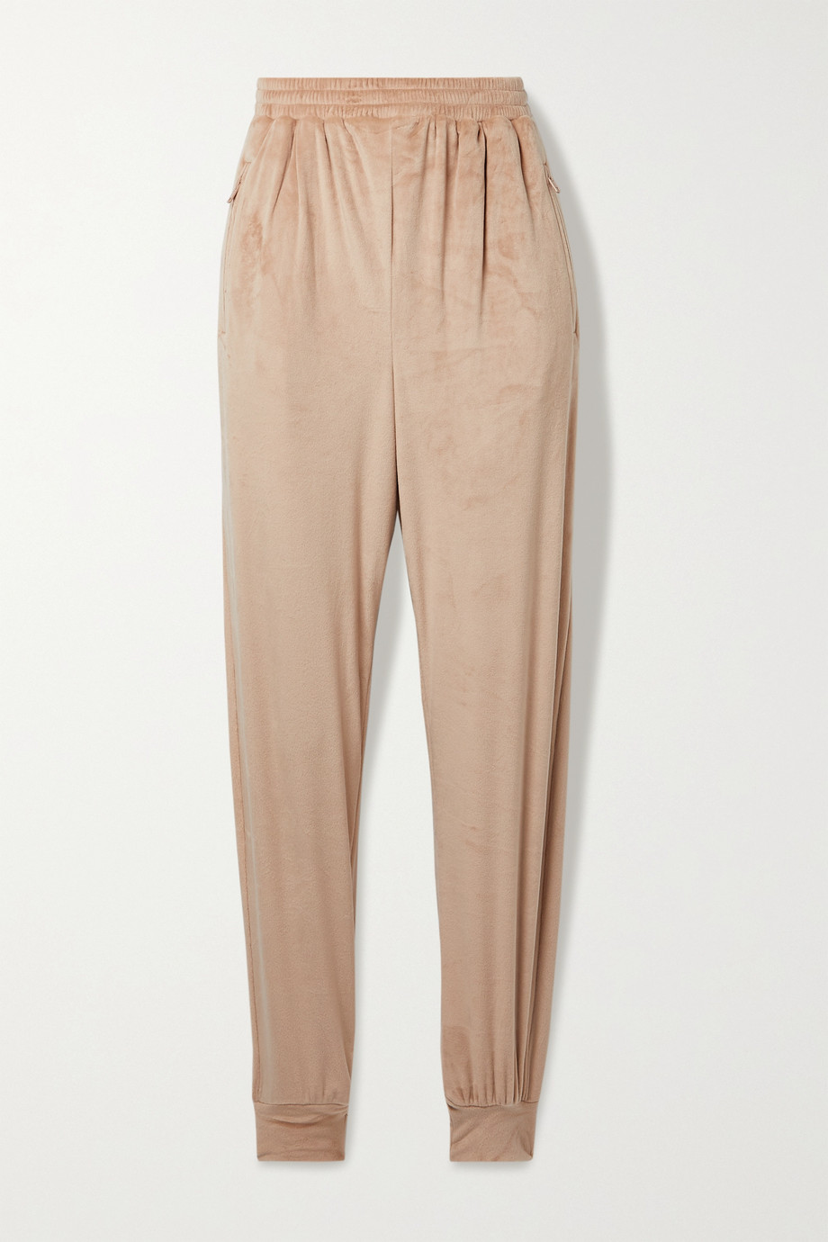 SKIMS Velour track pants - Honey