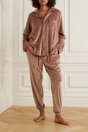SKIMS Velour track pants - Sienna
