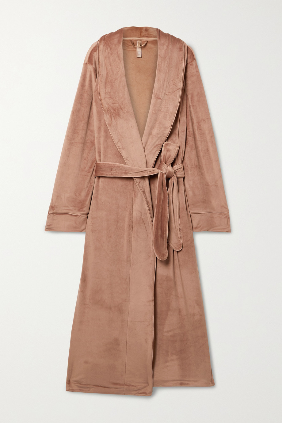 SKIMS Velour robe - Sienna