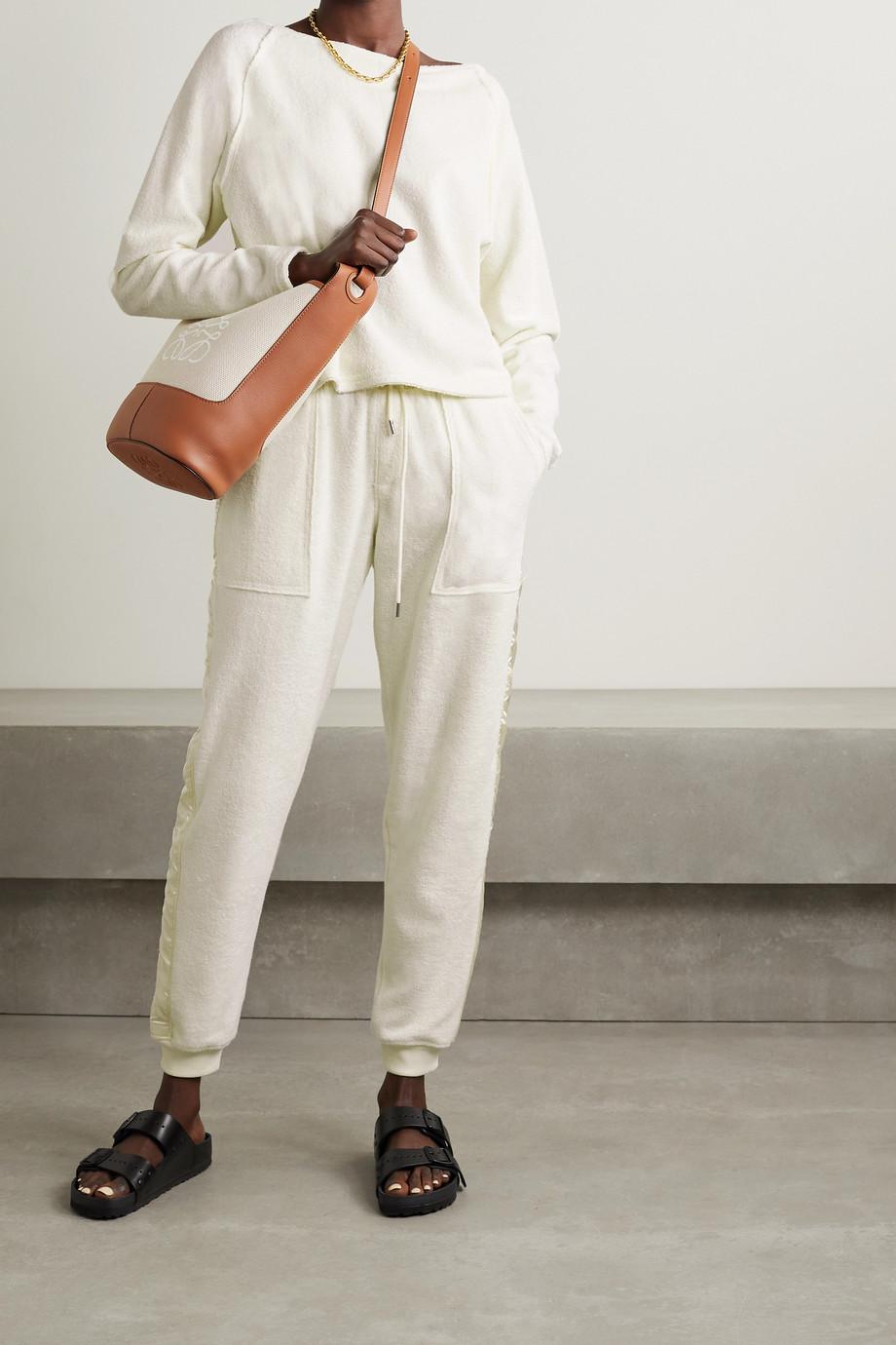 ATM Anthony Thomas Melillo Sweatshirt aus Baumwollfrottee