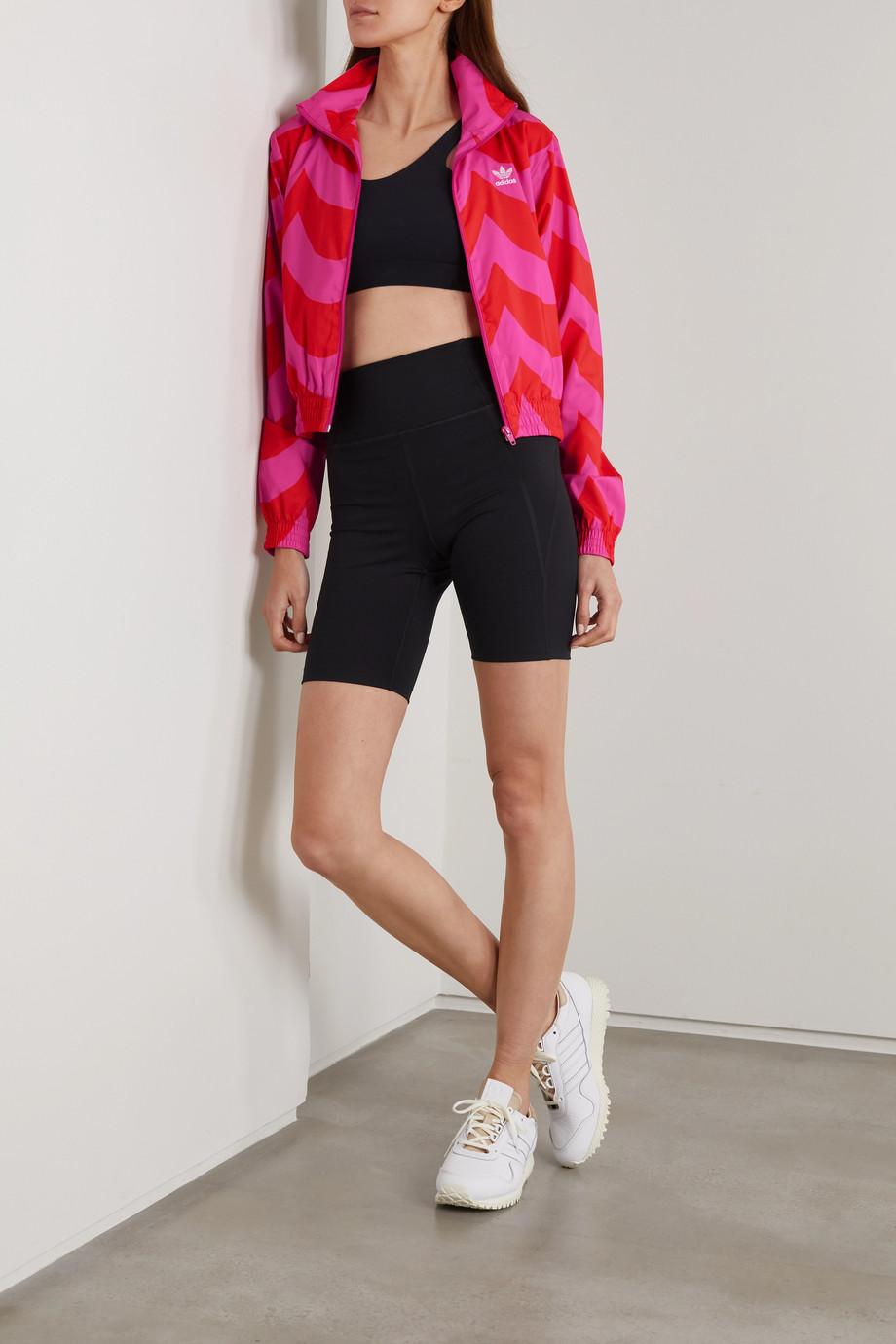 adidas Originals + Marimekko Primegreen Trainingsjacke mit Print