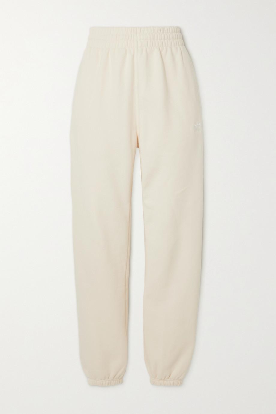adidas Originals Essentials cotton-blend jersey track pants