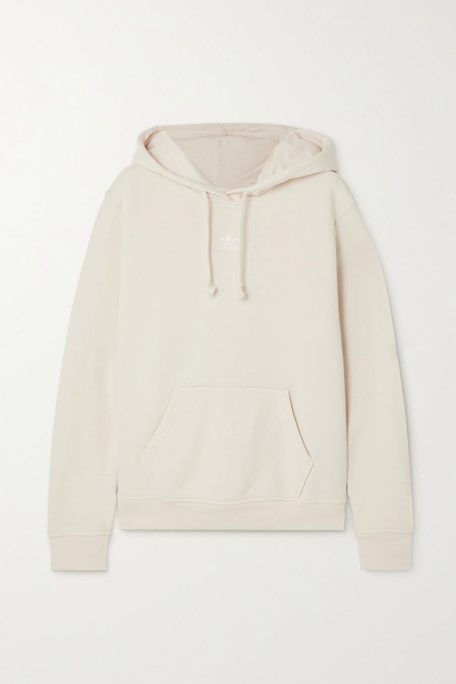 adidas Originals Essentials cotton-blend jersey hoodie