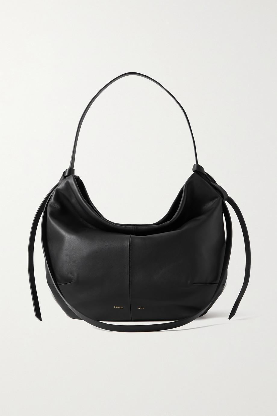 Oroton Brodie leather shoulder bag