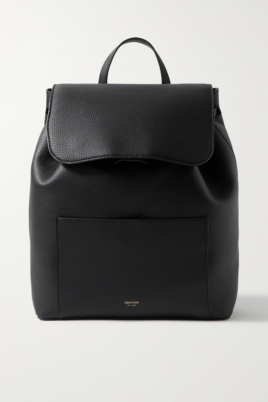 Oroton Duo textured-leather backpack