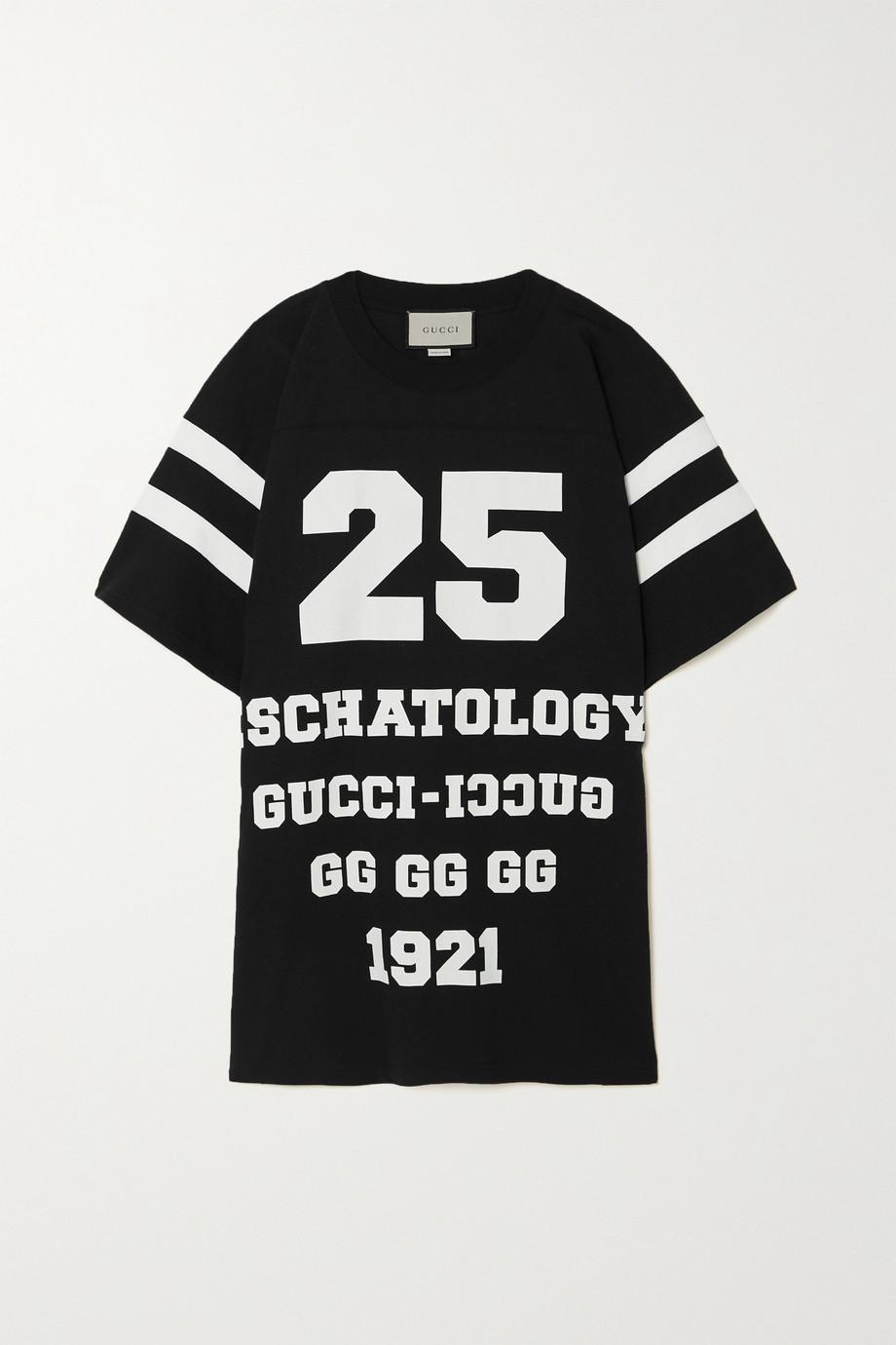 Gucci T-shirt oversize en jersey de coton imprimé