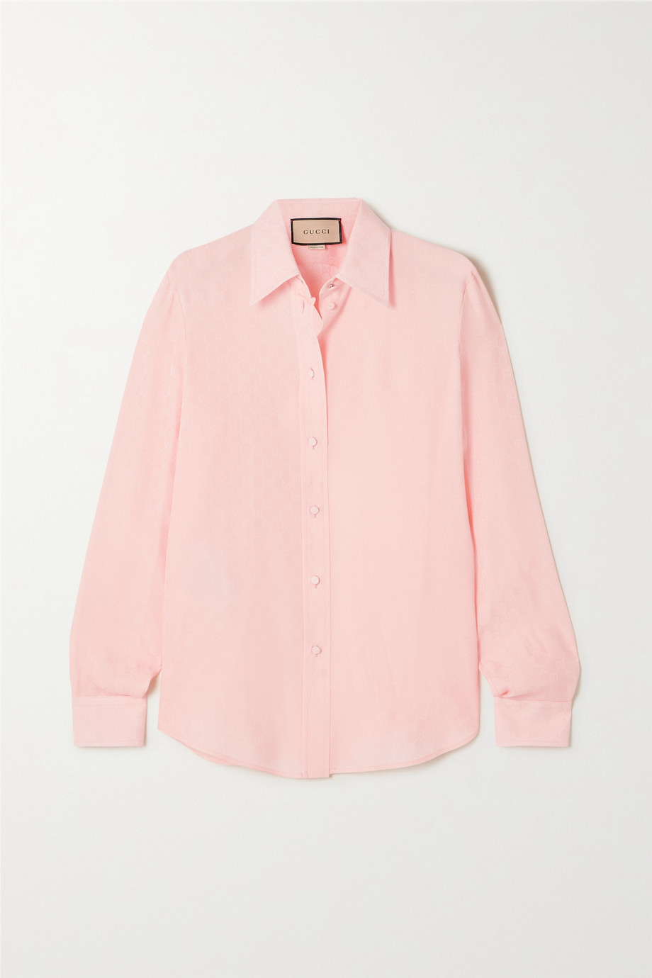 Gucci Silk-jacquard shirt