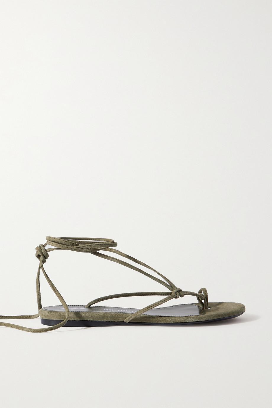 The Attico Kika suede sandals
