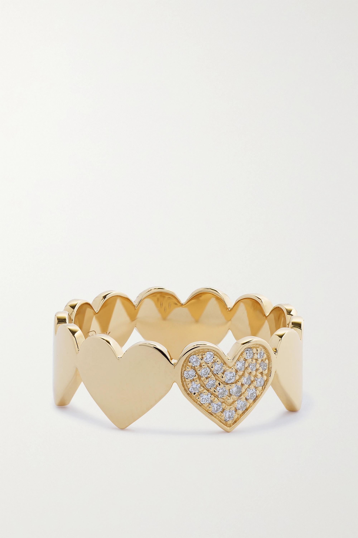 Sydney Evan - 14-karat gold diamond ring