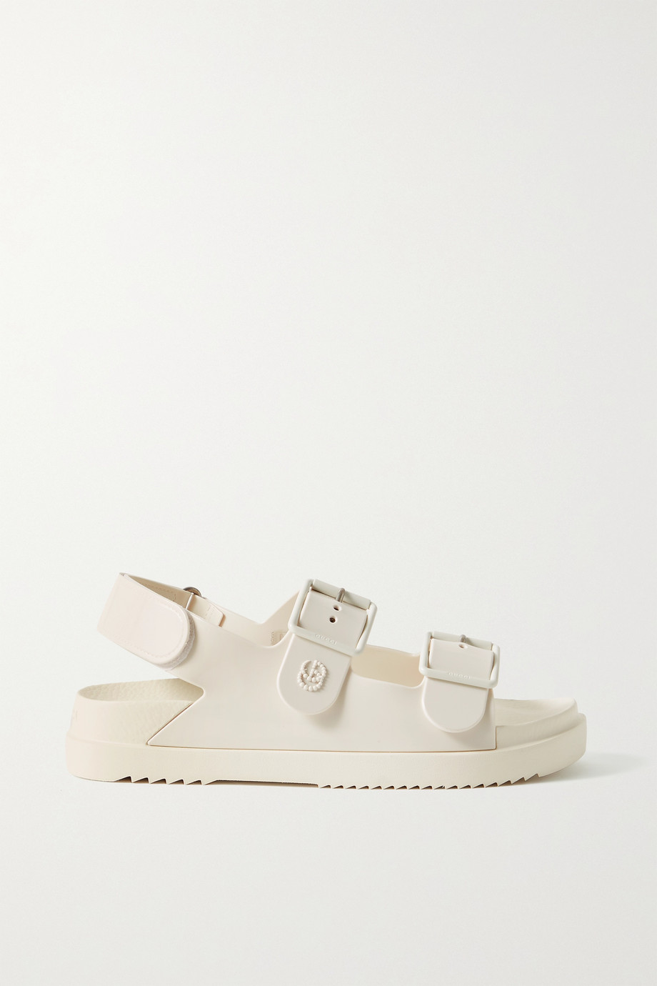 Gucci Isla buckled rubber sandals