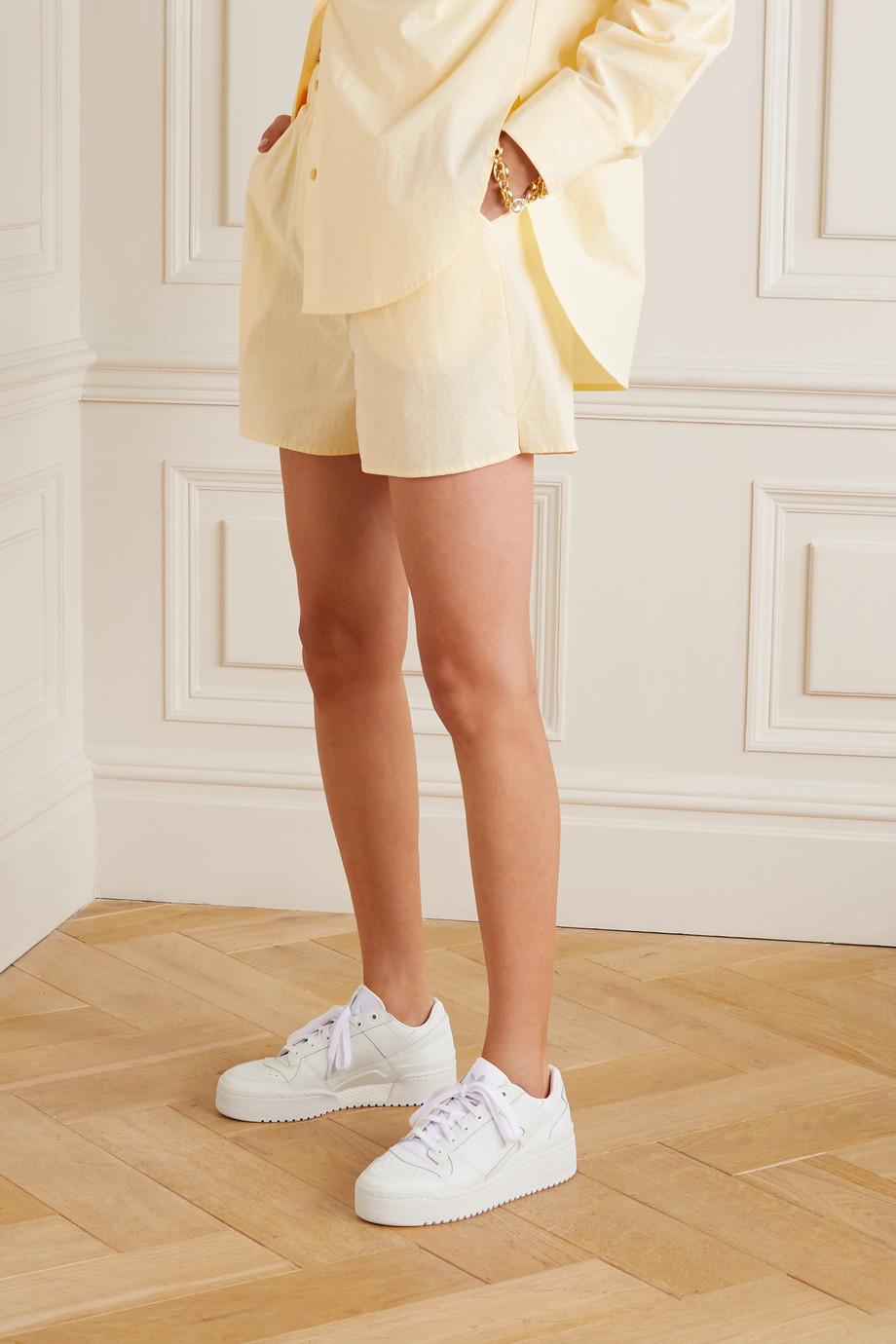 adidas Originals Baskets en cuir perforé Forum Bold - NET SUSTAIN