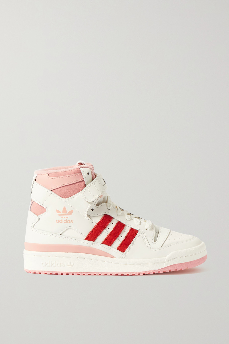 adidas Originals Forum 84 Hi leather and suede high-top sneakers