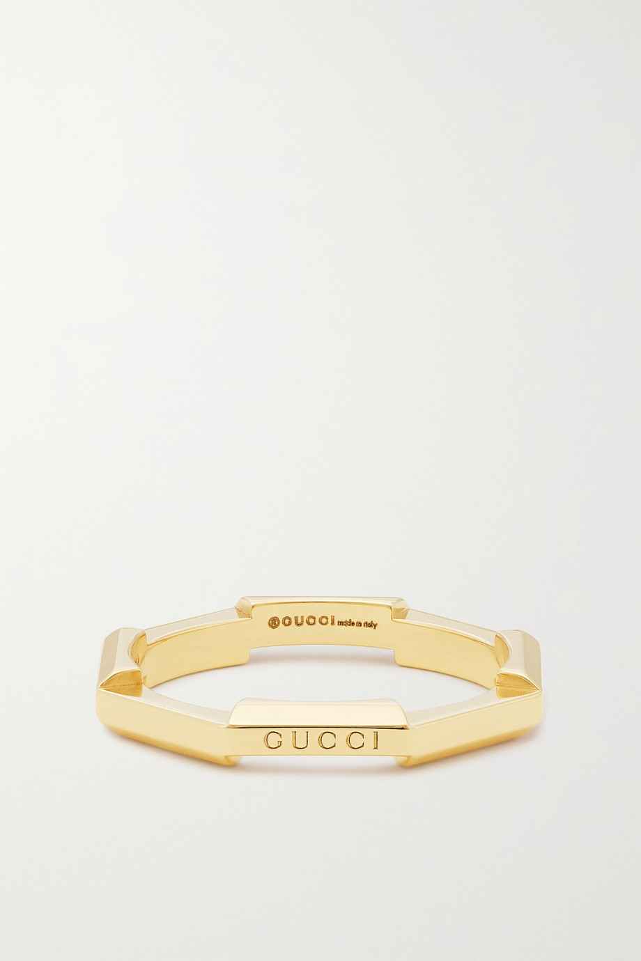Gucci Link to Love 18-karat gold ring