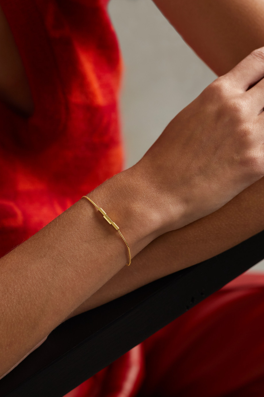 Gucci Bracelet en or 18 carats (750/1000) Link to Love