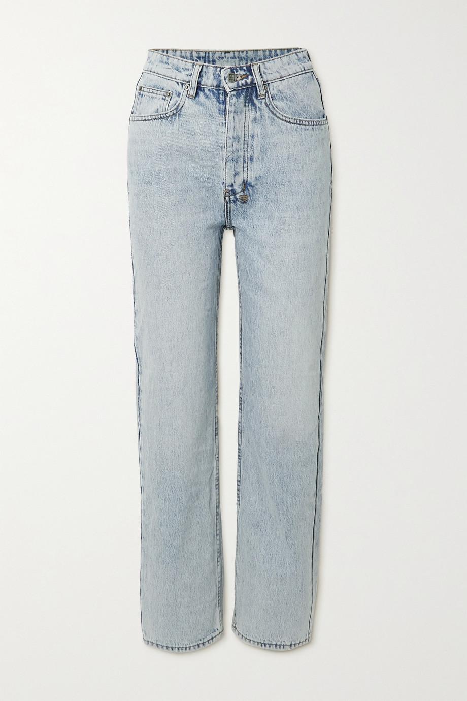 Ksubi Brooklyn high-rise straight-leg jeans