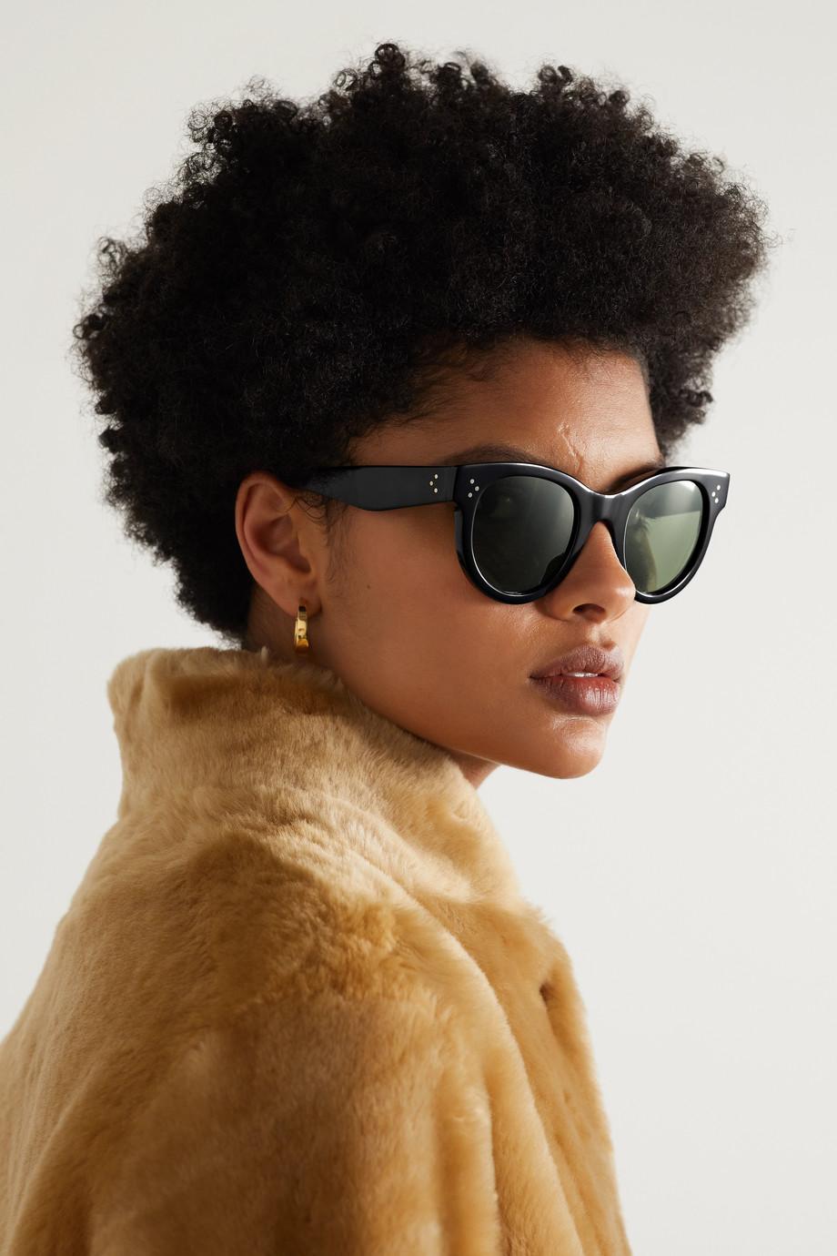 Celine Sonnenbrille mit rundem Rahmen aus Azetat