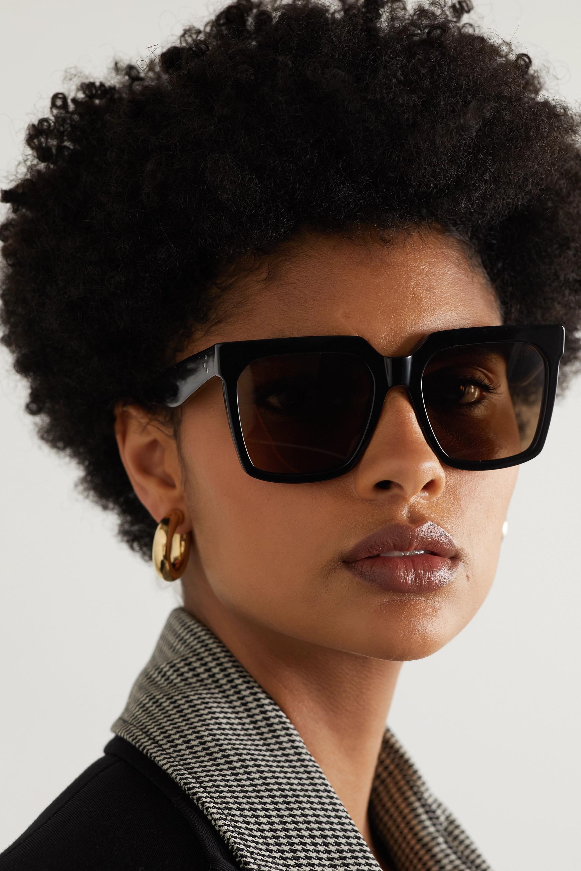 CELINE Eyewear Oversized-Sonnenbrille mit eckigem Rahmen aus Azetat