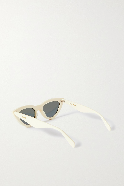 CELINE Eyewear Lunettes de soleil œil-de-chat en acétate