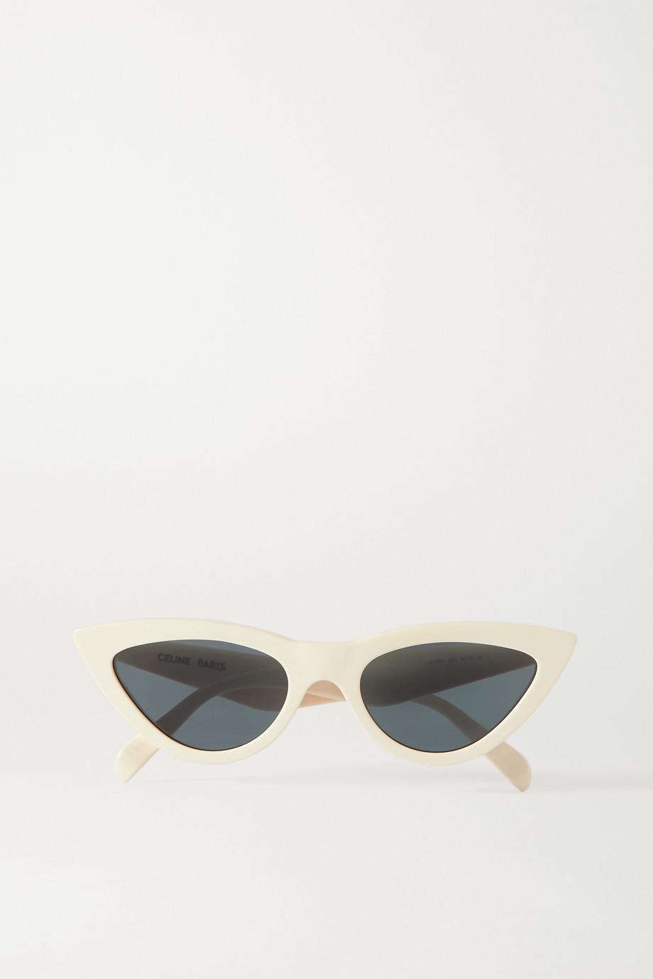 Celine Cat-eye acetate sunglasses