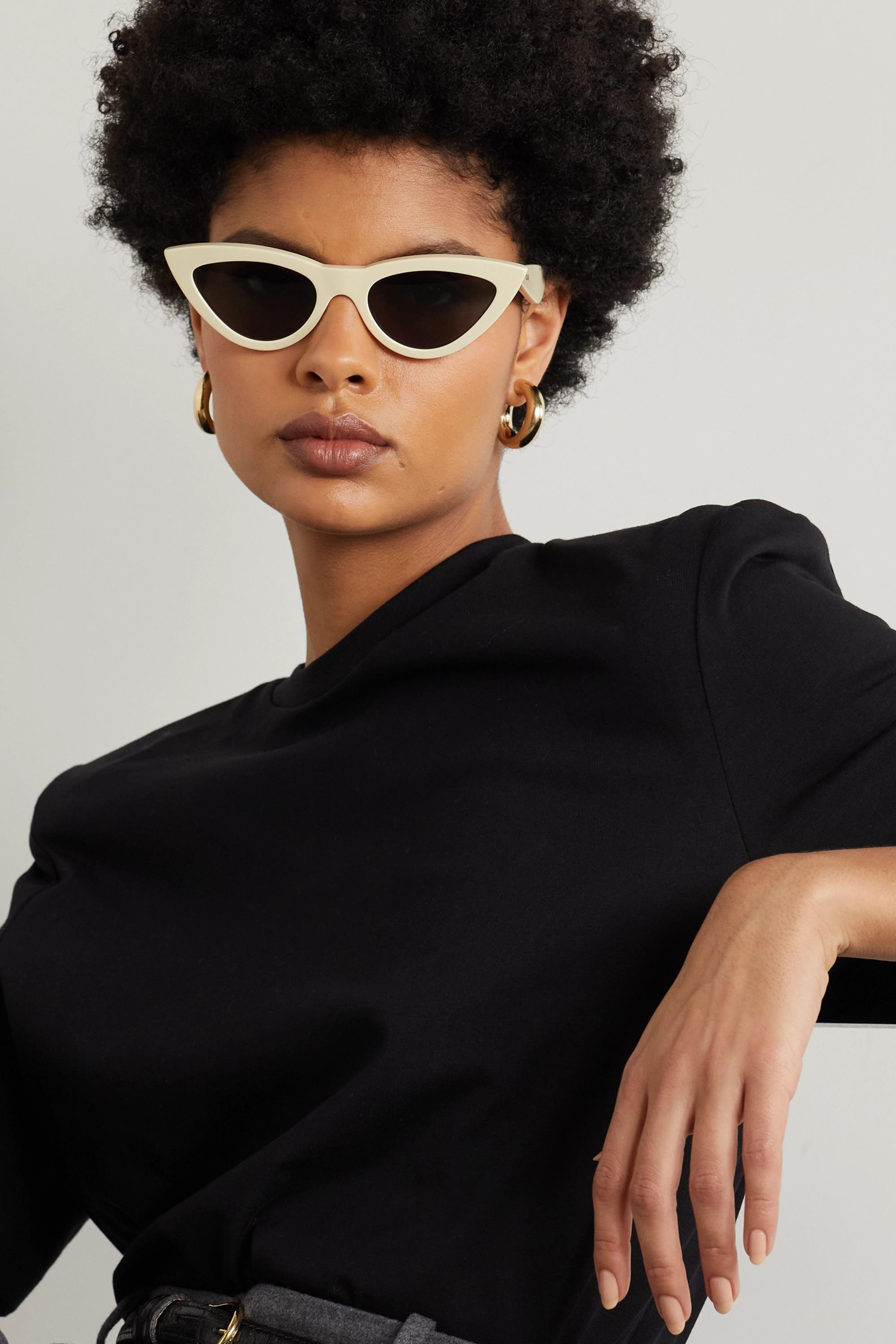 CELINE Eyewear Sonnenbrille mit Cat-Eye-Rahmen aus Azetat