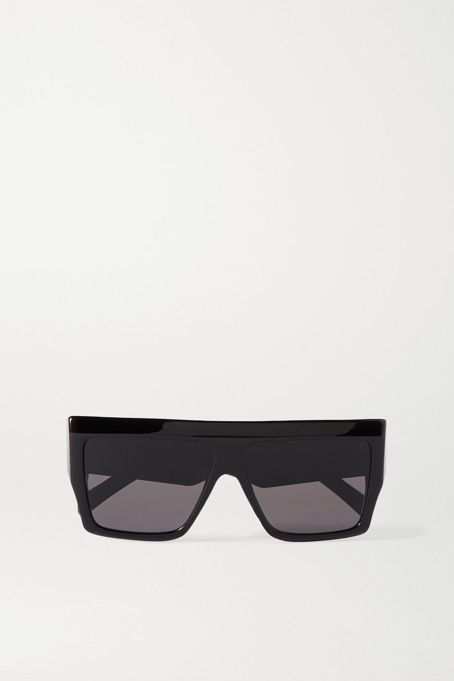 Celine Oversized D-frame acetate sunglasses