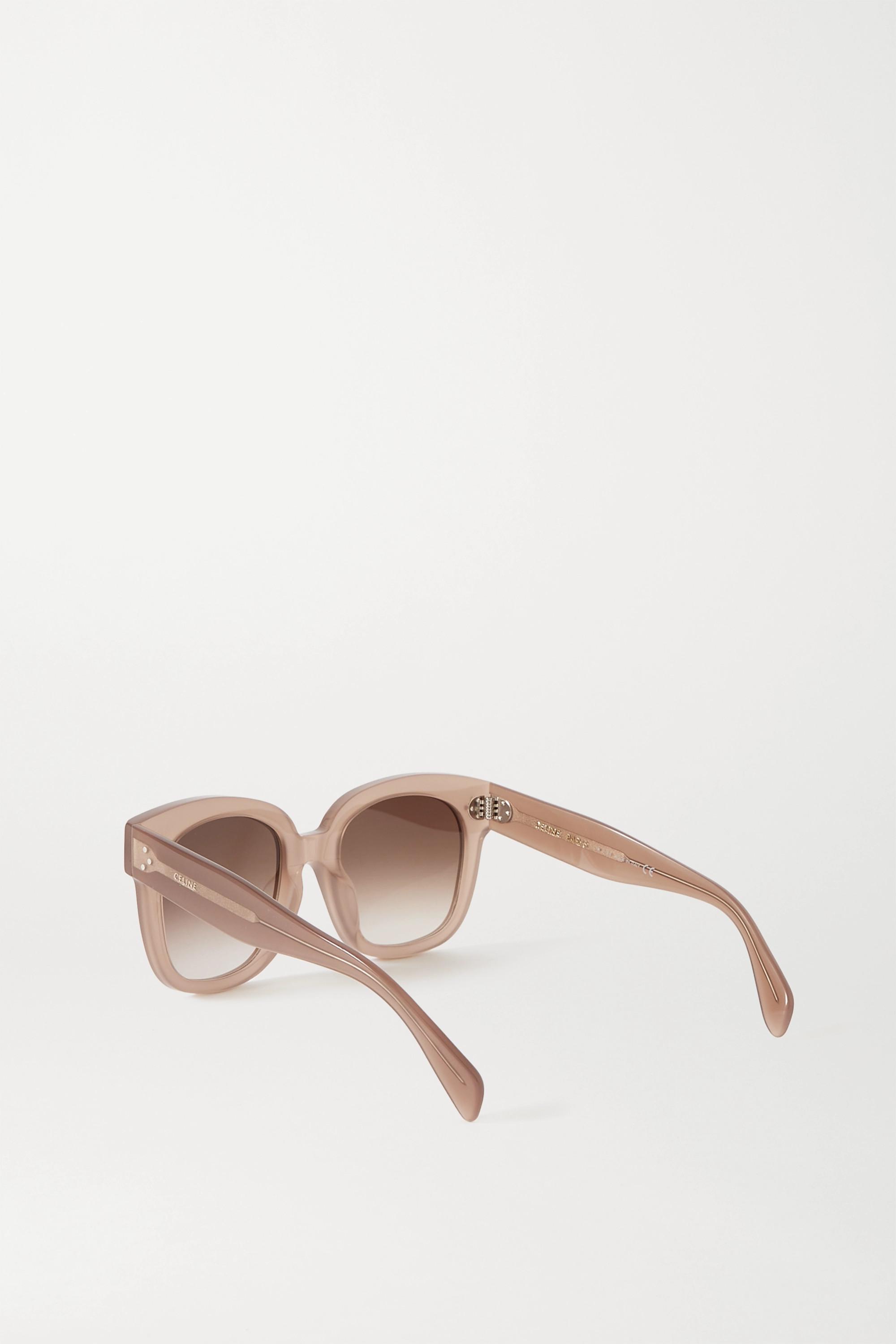 CELINE Eyewear Square-frame acetate sunglasses